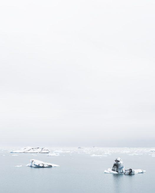 Iceberg Print Iceland