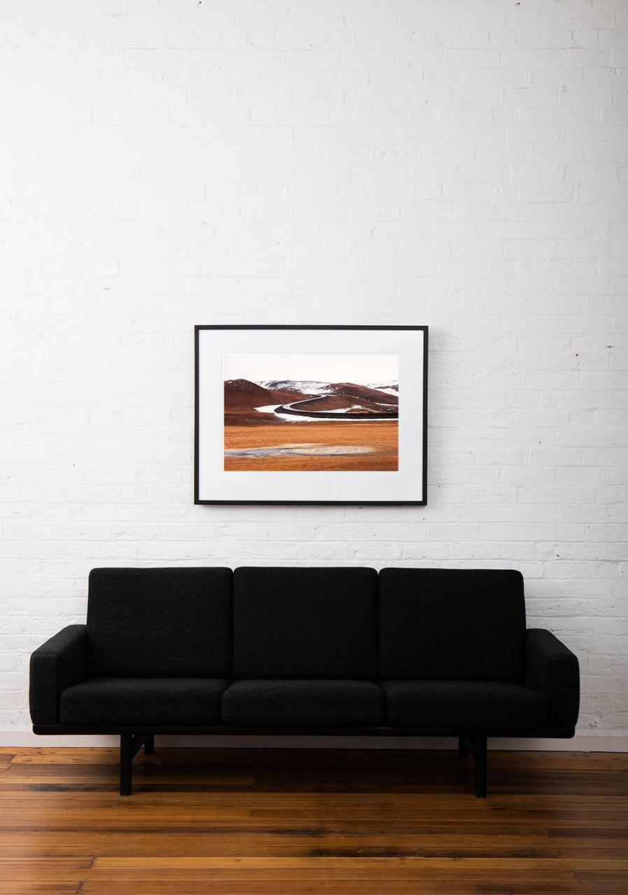 """Framed """"Going Home"""" Art Print"""
