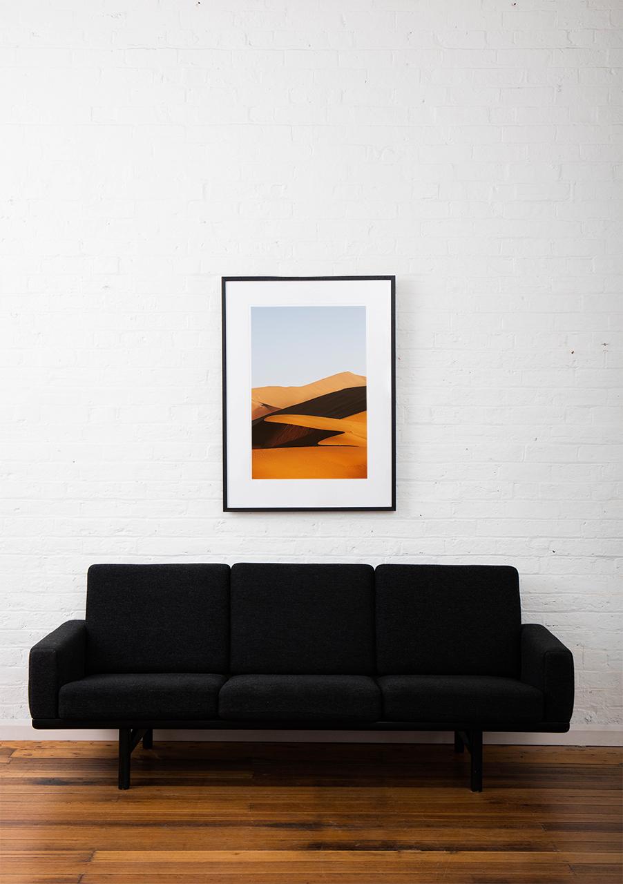 Framed 'Timepass' Art Print