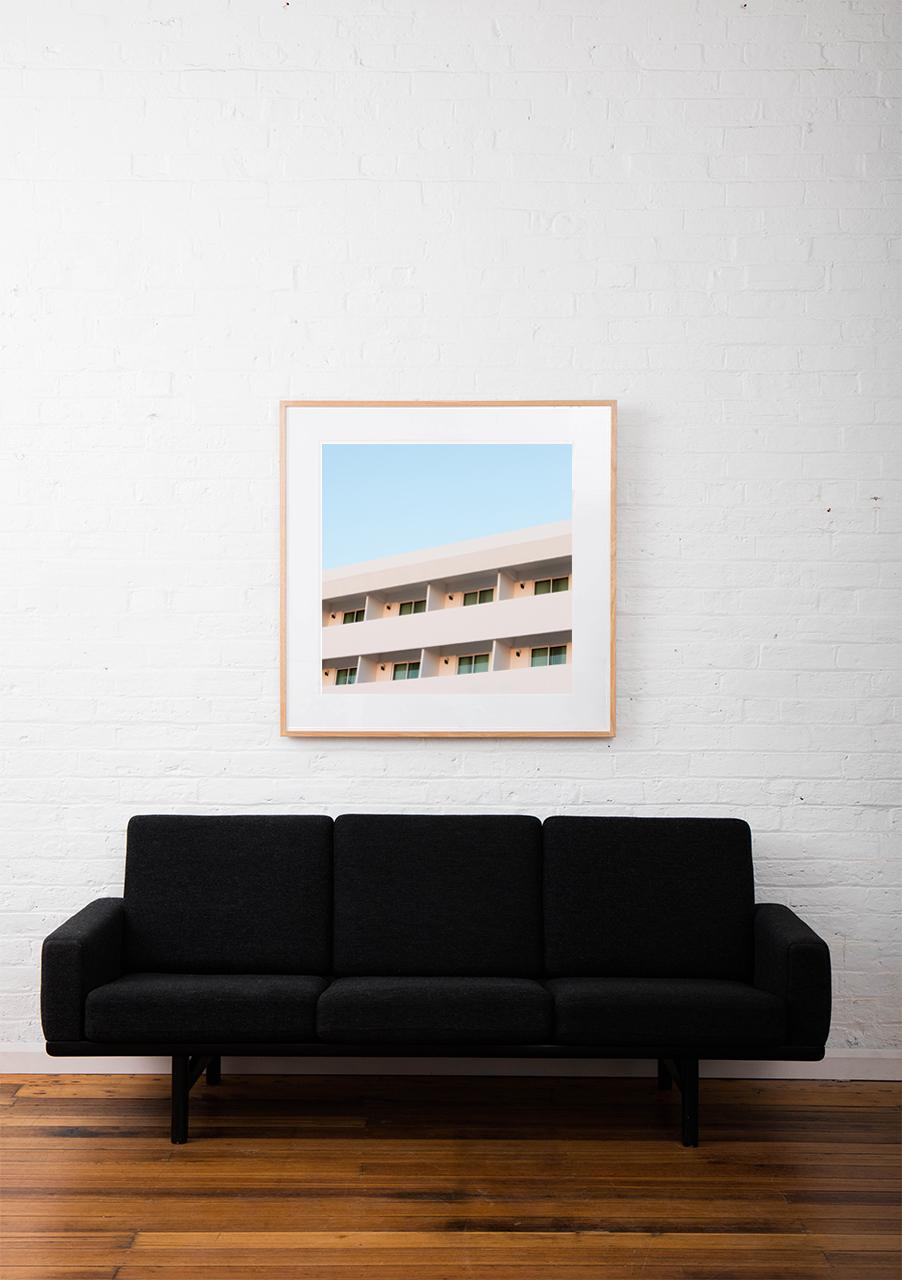 Framed 'Modernist' Art Print