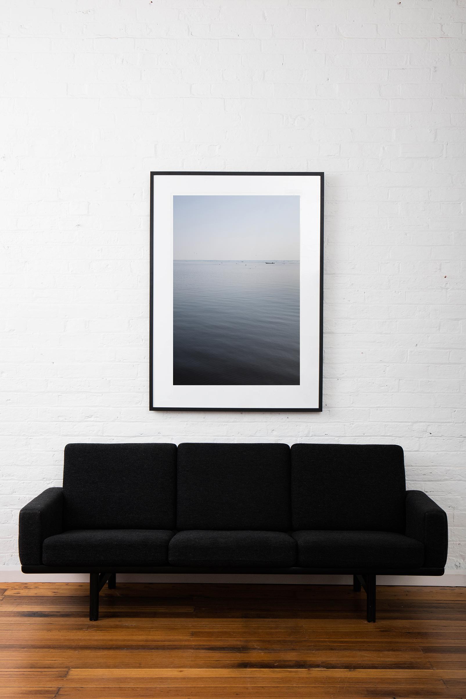 Framed 'Calmed' Art Print