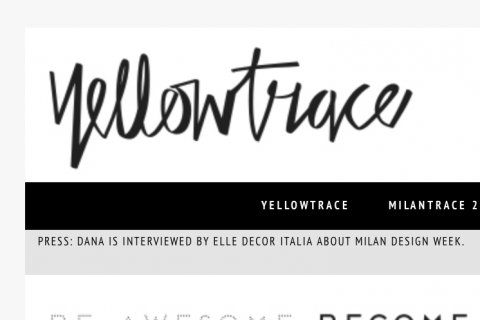 Yellow Trace March 2015